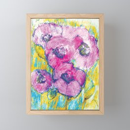 Bouquet 4 Framed Mini Art Print