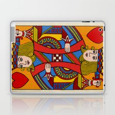 King of Hearts Laptop & iPad Skin