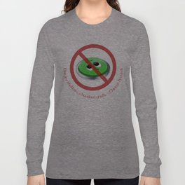 One Joy Shatters a Hundred Griefs Long Sleeve T-shirt
