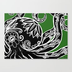 Pulpo Xochimilco Canvas Print