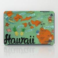 hawaii iPad Cases featuring HAWAII by Christiane Engel