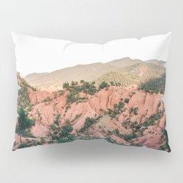 Orange mountains of Ourika Morocco | Atlas Mountains near Marrakech Pillow Sham