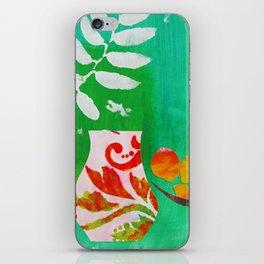 Fern & Peaches Still Life iPhone Skin