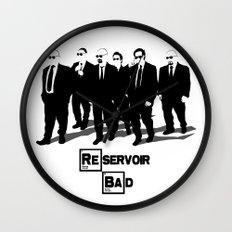 Reservoir Bad Wall Clock