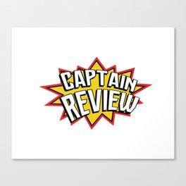 Captain Review Canvas Print