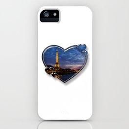I Love Paris iPhone Case