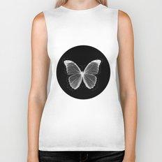 Geometric Butterfly Biker Tank