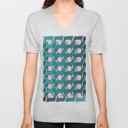 """""""What's on Your Shirt?"""" Unisex V-Neck"""