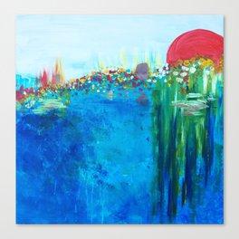 Ocean Sun Canvas Print