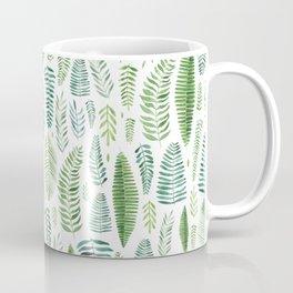 Watercolour Tropical Fronds Coffee Mug