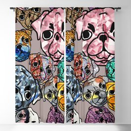 Meteor Dogs Blackout Curtain