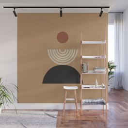 Nascita del sole - The birth of the sun - Modern abstract art Wall Mural
