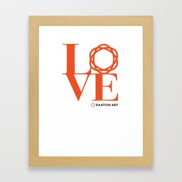Love Saatchi Art Framed Art Print