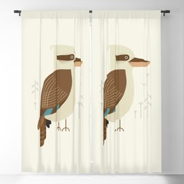 Laughing Kookaburra, Bird of Australia Blackout Curtain