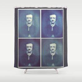 Edgar Allan Poe Horrible Sanity Shower Curtain