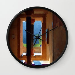 Knossian Afternoon Wall Clock