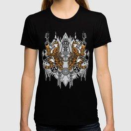 """""""Detroit Nouveau; Coat of Arms"""" T-shirt"""