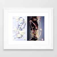 bleach Framed Art Prints featuring Bleach-1 by Bzerk Creative