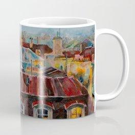 Roofs of Prague Coffee Mug