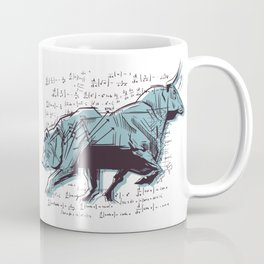 Stock Market Analysis Finance Coffee Mug