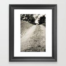The Road Framed Art Print
