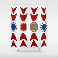 geo Shower Curtains featuring geo by BruxaMagica_susycosta