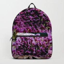 field carmine flower Backpack