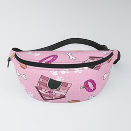 Dog Paradise in Pink Fanny Pack