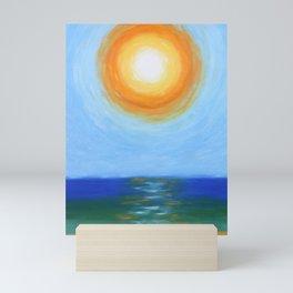 Haitian Sunrise coastal landscape painting by Joseph Stella Mini Art Print