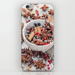 spices #society6 #decor #buyart iPhone Skin