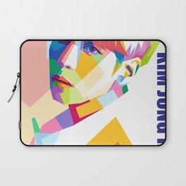 Kim Jong Hyun In Pop Art Laptop Sleeve