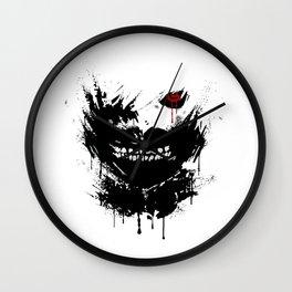 Kaneki Ken Face Great2 Wall Clock