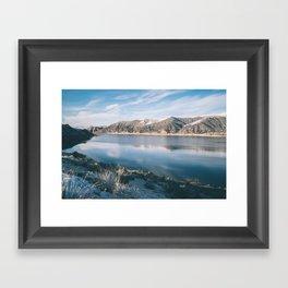 Echo Reservoir Framed Art Print