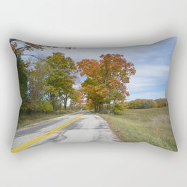 Ahnapee Fall Foliage Rectangular Pillow