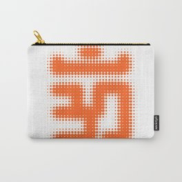 Aum Orange Carry-All Pouch