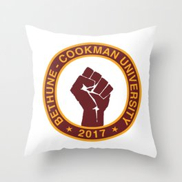 BETHUNE-COOKMAN CLASS OF 2017 Throw Pillow