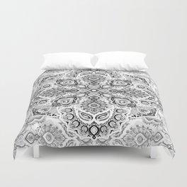 Pattern in Black & White Duvet Cover
