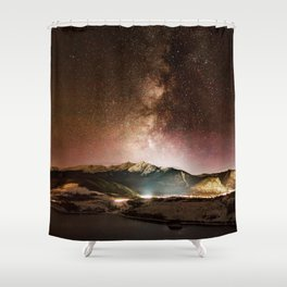 Prospect Milky Way Shower Curtain