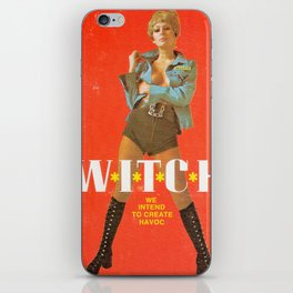 We Intend To Cause Havoc iPhone Skin