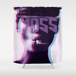 smokin'MOSS Shower Curtain