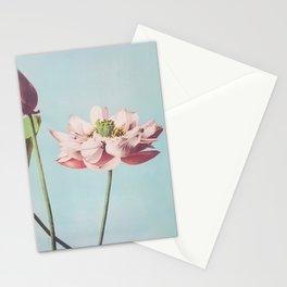 Japanese Lotus Flower Stationery Cards