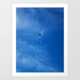 Always the summers are slipping away Art Print