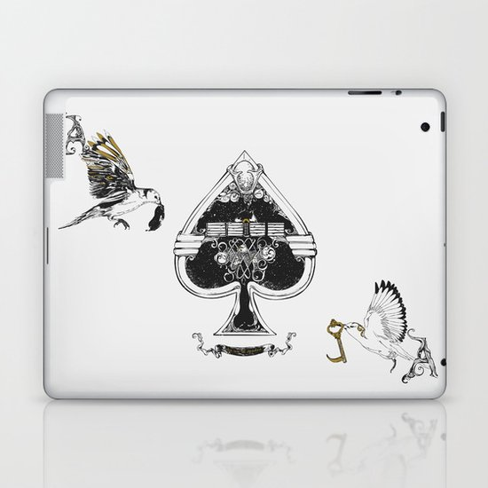 The ace of spades Laptop & iPad Skin