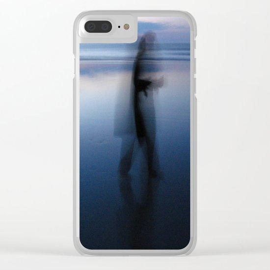 Dream on A Beach Clear iPhone Case