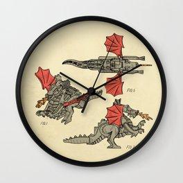 Lego Dragon Wall Clock