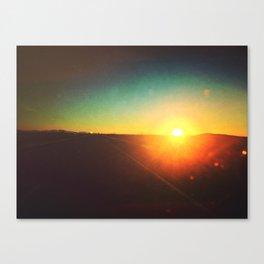 NM Sunrise Canvas Print