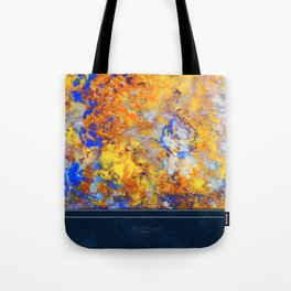 Firefall - Original Abstract Art by Vinn Wong Tote Bag
