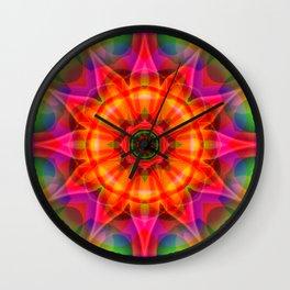 Floral Vision Wall Clock