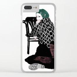 Veronica-w Clear iPhone Case