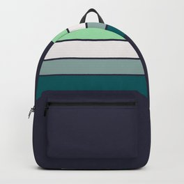 Bright Electric Stripes Backpack